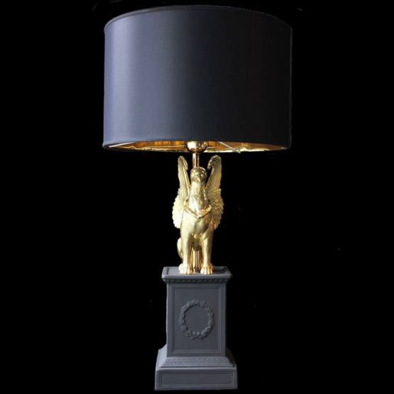 Golden griffin ❖ table lamp