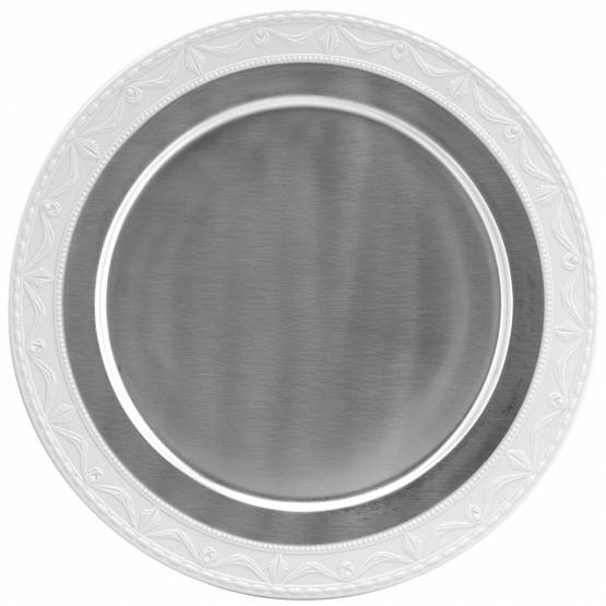 Presentation plates  ❖ Pur Luxe - Satteensilver