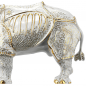 "Mobile Preview: Porzellanfigur ""Rhinocerus"" Gold Edition"
